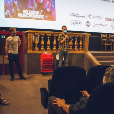 ... en présence d'un de ses réalisateurs, Savitri Joly-Gonfard (Seth Ickerman)