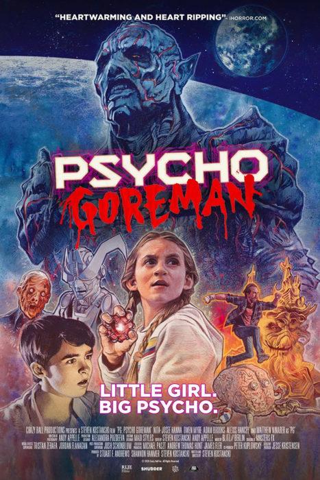 PSYCHO GOREMAN affiche